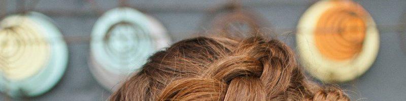 Коса вокруг головы: тренд этого года (30 фото)