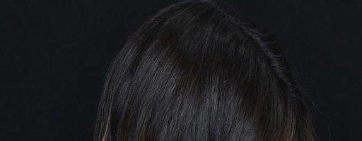 Каким может быть мелирование на черные волосы?