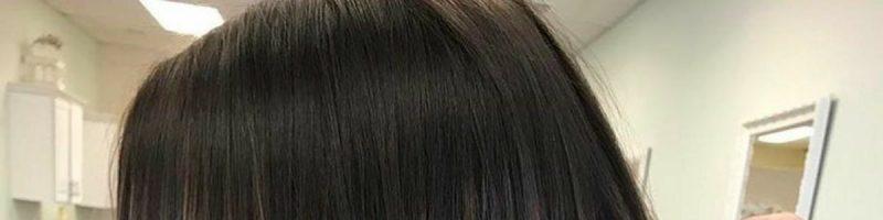 Какой вид может иметь мелирование на темные волосы на фото?