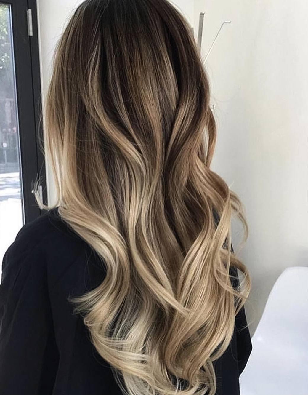 Разновидности и техники создания омбре на русые волосы