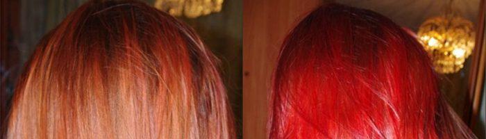 Покраска волос тоником фото до и после (28 фото)