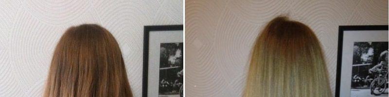 Ламинирование волос желатином фото до и после (35 фото)