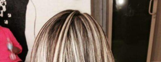 Окрашивание волос «зебра» (30 фото)