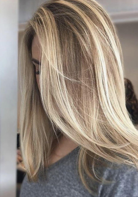 Картинки мелированные волосы блондинок подарил