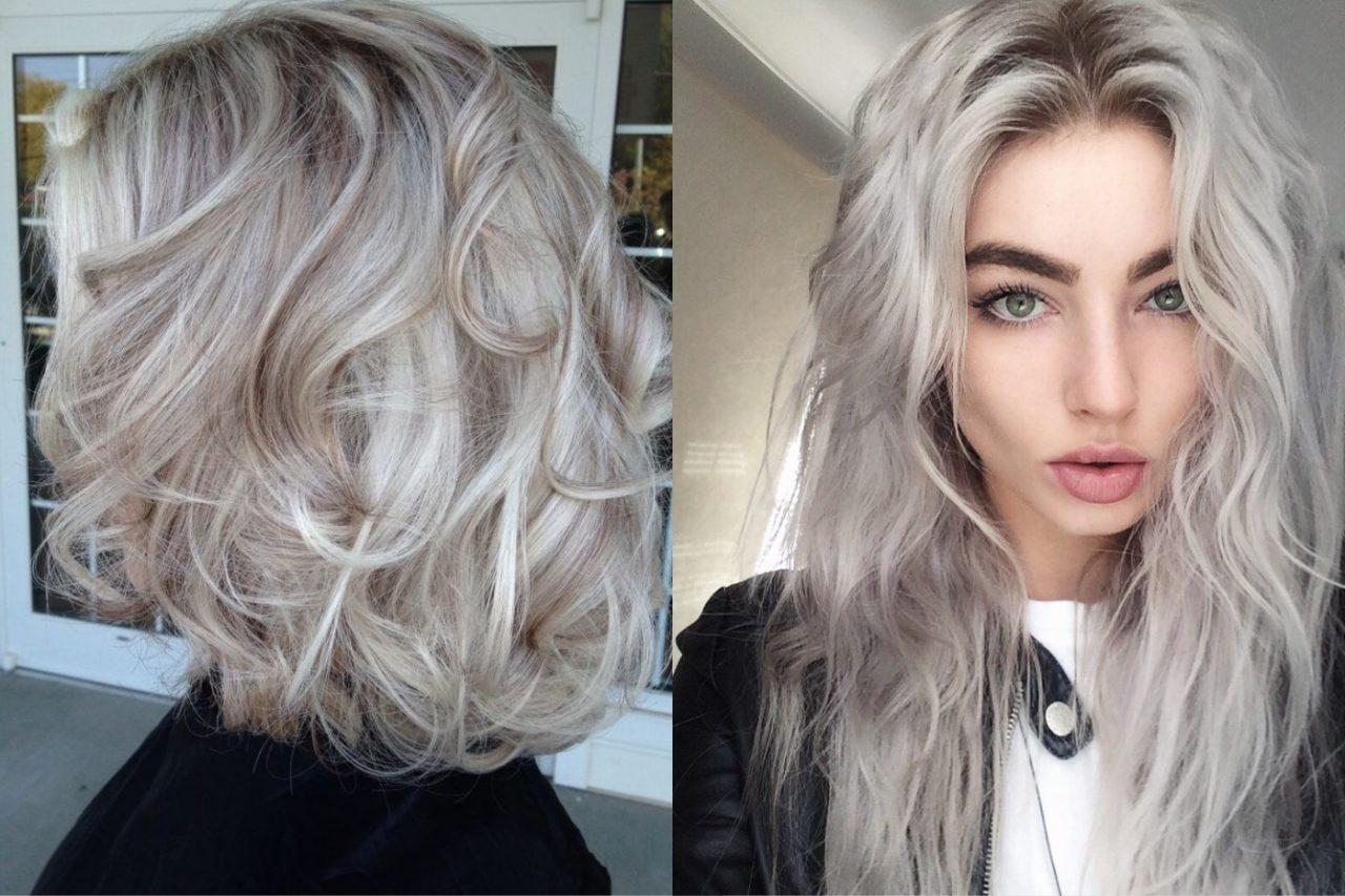 Холодные оттенки блонда (38 фото)