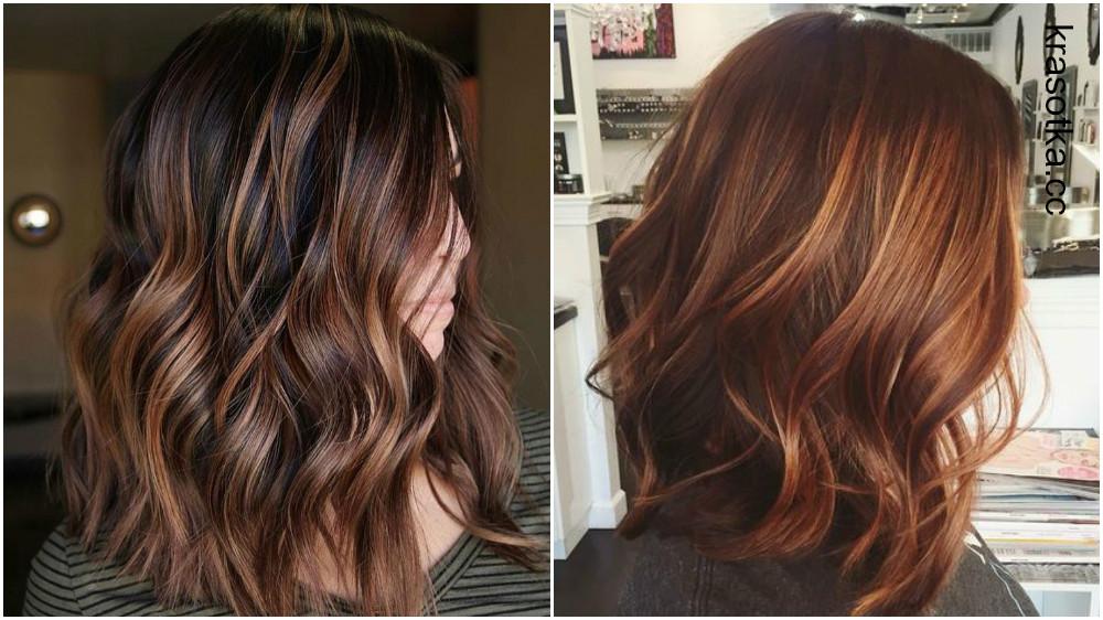 Окрашивание волос в темный цвет (38 фото)