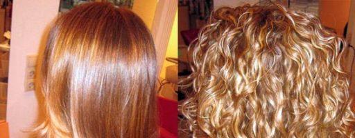 Биохимическая завивка волос фото до и после (34 фото)