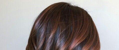Окраска волос в коричневые тона (30 фото)