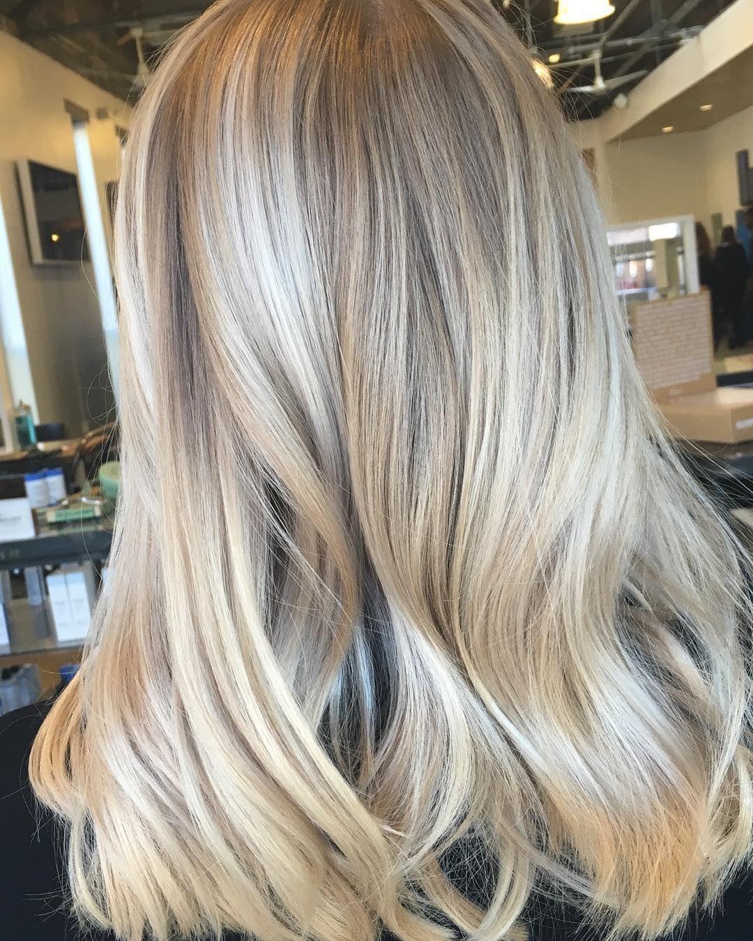 Покраска волос от темного к светлому с растяжкой цвета (20 фото)
