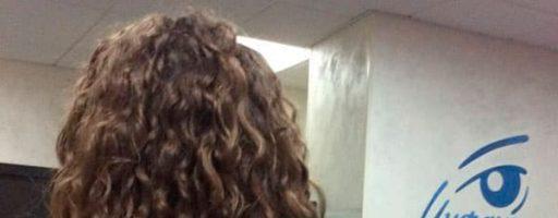 Биозавивка волос — крупные локоны (30 фото)