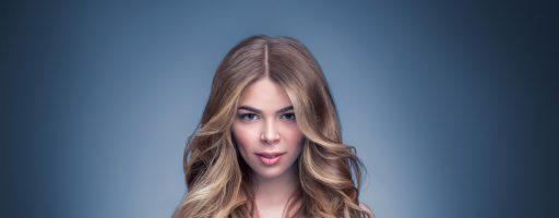 Окрашивание с эффектом выгоревших волос на разную длину локонов