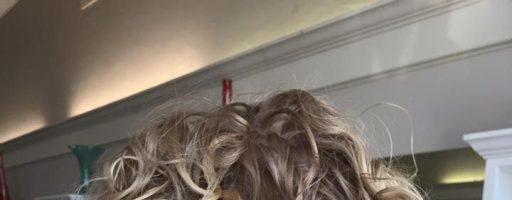 Химическая завивка волос — крупные локоны (45 фото)