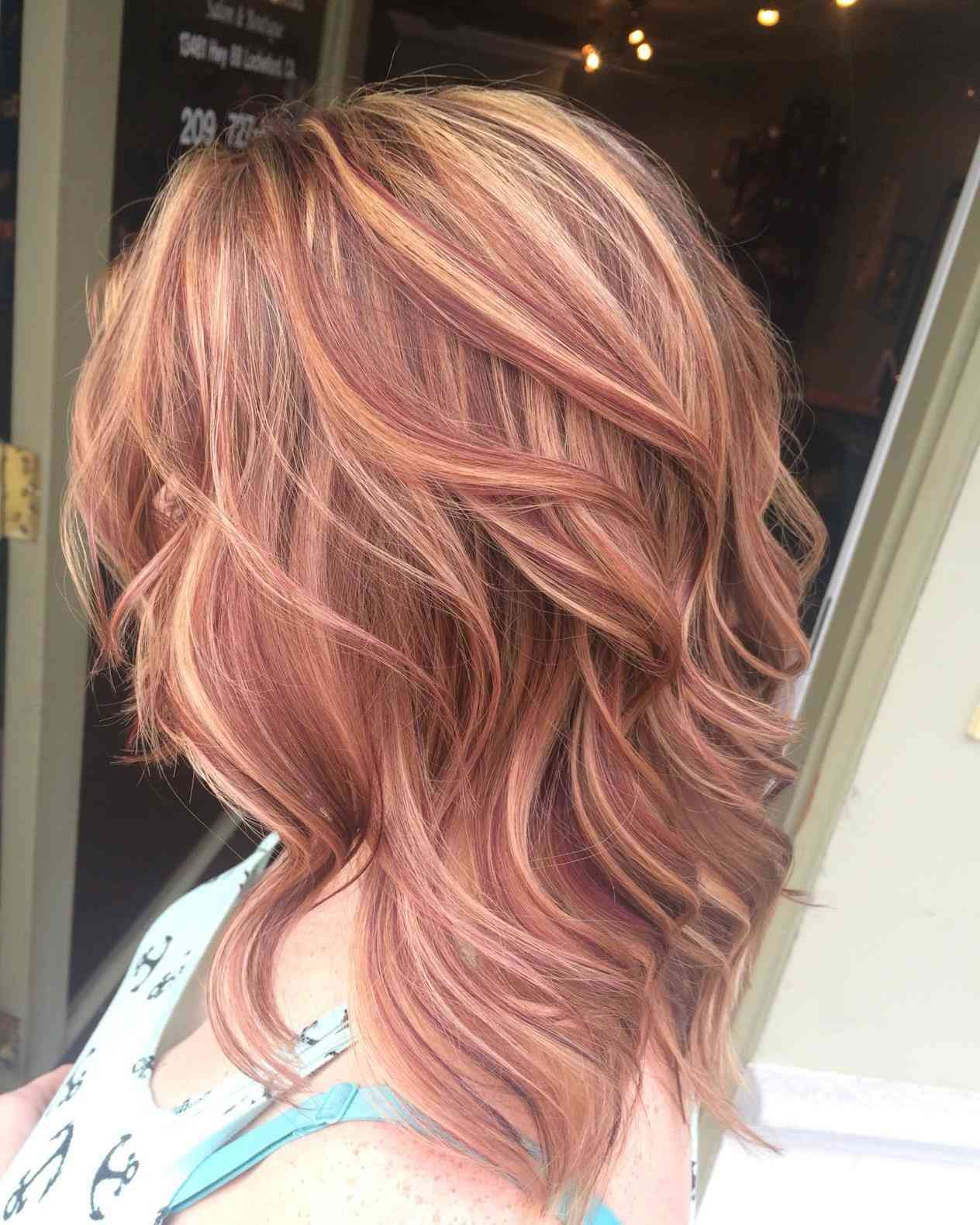Новые тенденции окраска волос двумя цветами 30 фото