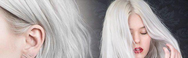 Серебряный цвет волос (31 фото)