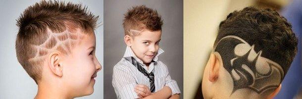 Детские стрижки для мальчиков (35 фото)