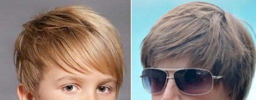 Модные стрижки для мальчика 5 лет (31 фото)