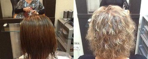 Долговременная укладка: фото до и после (37 фото)