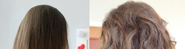 Крупная биозавивка волос: фото до и после (23 фото)