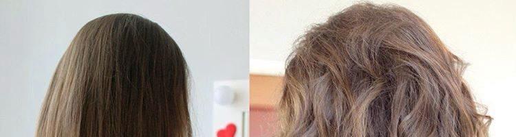 Биозавивка волос фото до и после (33 фото)
