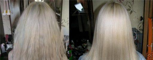 Экранирование волос: фото до и после (27 фото)