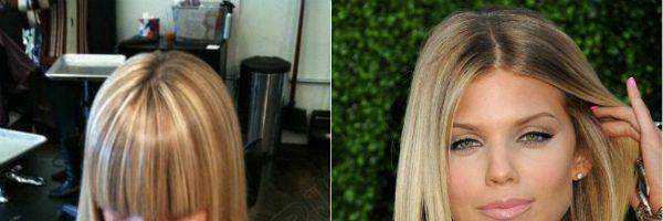 Красивое колорирование волос (33 фото)