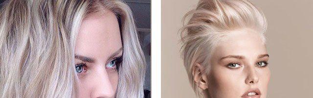 Холодные пепельные оттенки волос ( 39 фото)