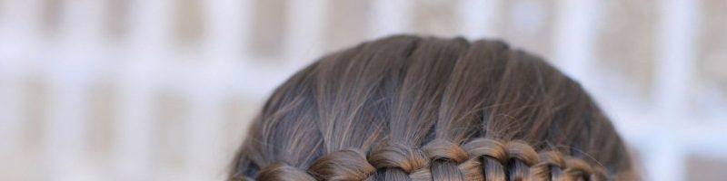 Учимся создавать оригинальные прически с помощью схемы плетения кос