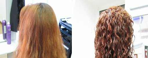 Химическая завивка волос (32 фото)