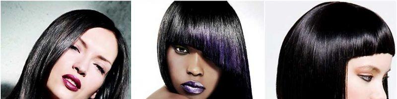 Черный цвет волос (28 фото)
