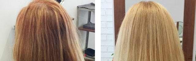 Осветление волос хной: фото до и после (31 фото)