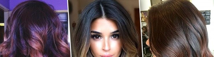 Интересные окрашивания волос (38 фото)