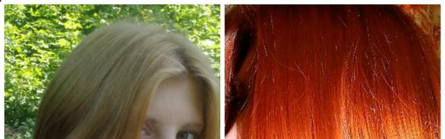 Русые волосы после хны ( 13 фото)