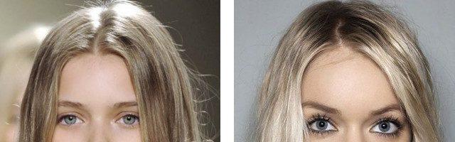 Русые оттенки краски для волос (18 фото)