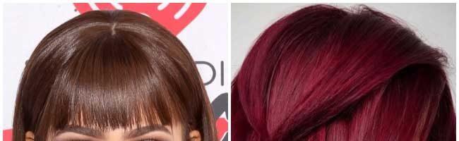 Винные оттенки волос (33 фото)