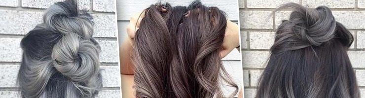 Красивое окрашивание волос для брюнеток (37 фото)