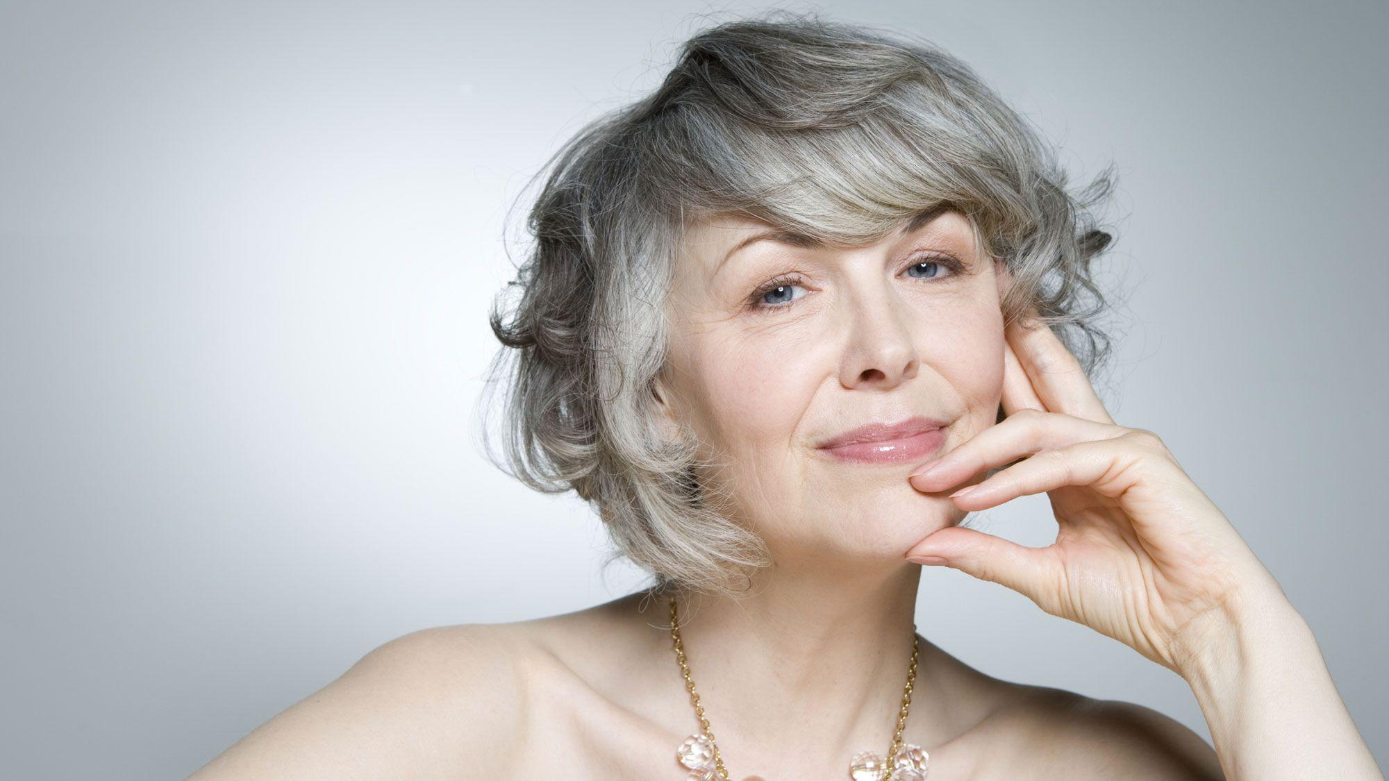Возрастные женщины фото #11