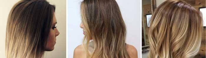 Виды окрашивания волос с названием (18 фото)