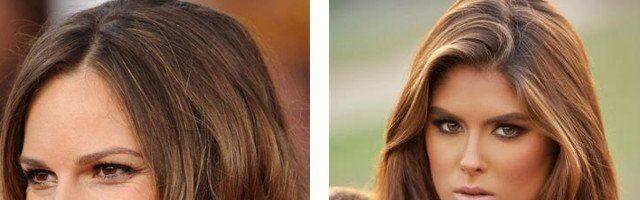 Золотисто-коричневый цвет волос (35 фото)