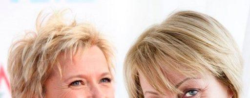 Женская стрижка для женщин 50 лет (31 фото)