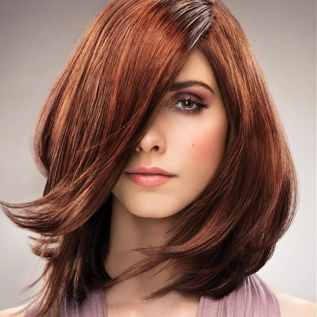 Колорирование волос: модный цвет (30 фото)