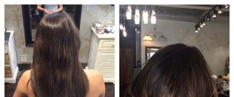 Окрашивание волос на каре (28 фото)