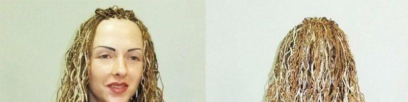 Косички зизи: фото до и после (28 фото)