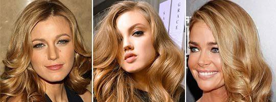 Золотисто-русый цвет волос (29 фото)