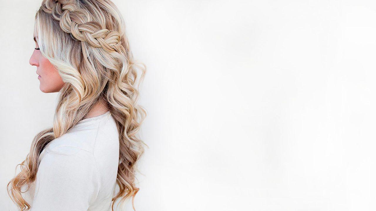 Идеи причесок с внедрением косы на длинные волосы
