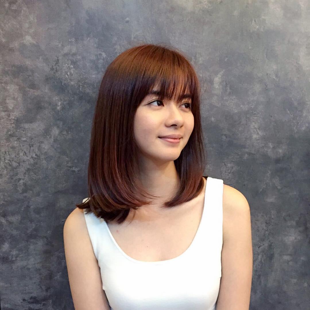 Asian medium hair cuts, classic big tits pic