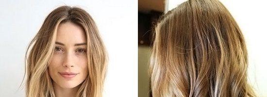 Калифорнийское мелирование на светлые волосы ( 29 фото)