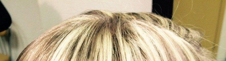 Крупное мелирование на русые волосы (26 фото)