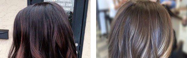 Покраска волос на удлиненное каре (34 фото)