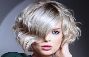 Каре с пепельным цветом волос (30 фото)