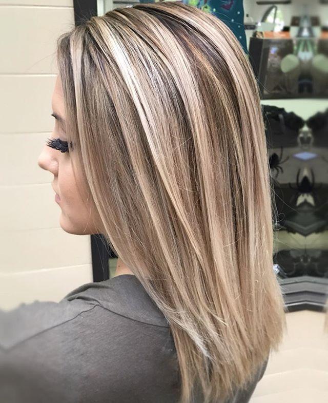 течением примеры мелирования волос фото вязания